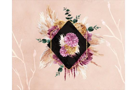 Panel for the bag -Autumn boho - 50x40 cm