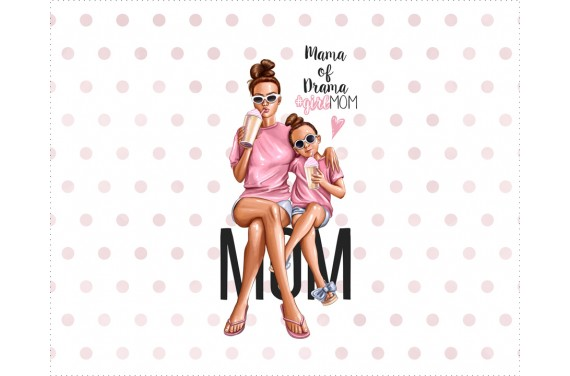 Panel for the bag - Special mom 1 - 50x40 cm