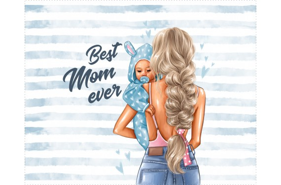 Panel for the bag - Special mom 3 - 50x40 cm