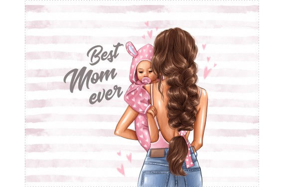 Panel for the bag - Special mom 7 - 50x40 cm