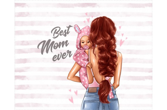 Panel for the bag - Special mom 8 - 50x40 cm