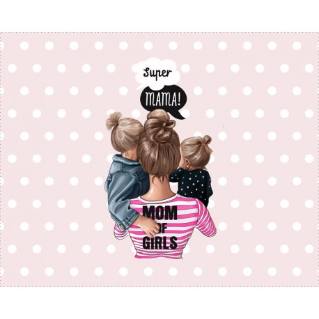 Panel for the bag - Special mom 9 - 50x40 cm