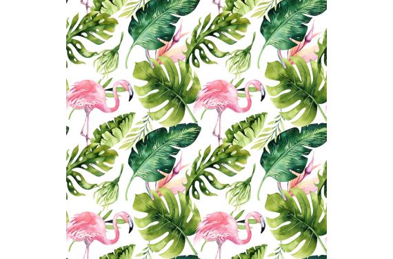 Flamingi 3 tkanina