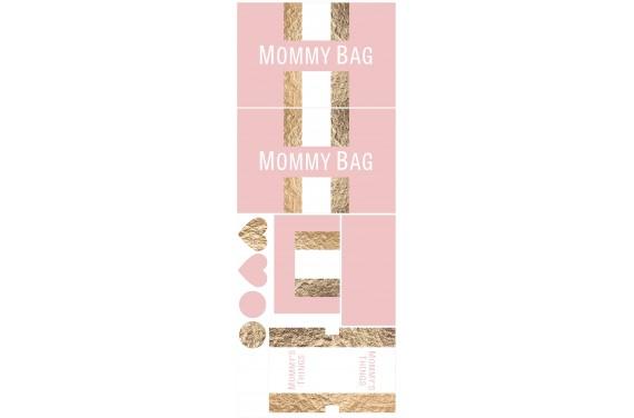 Mummy bag 100-- Set für eine Tasche