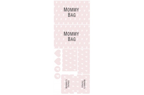 Mummy bag 101-- Set for a bag
