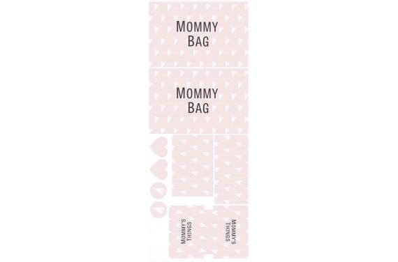 Mummy bag 101-- Set für eine Tasche