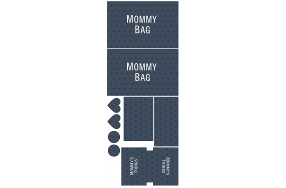 Mummy bag 102-- Набор для сумки