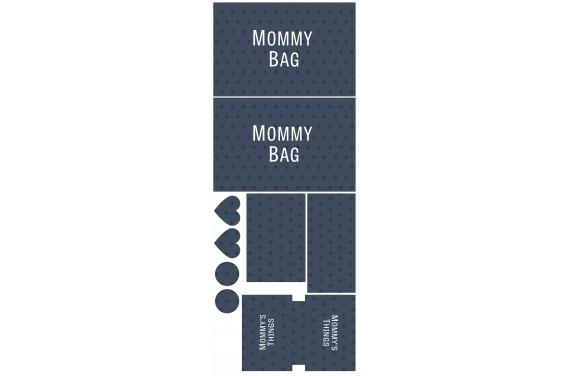 Mummy bag 102-- Set für eine Tasche