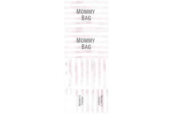 Mummy bag 103-- Set für eine Tasche