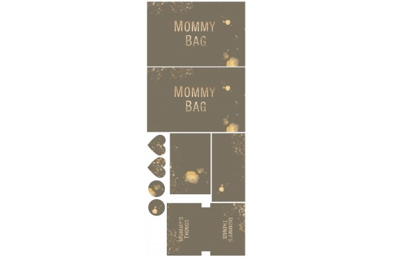 Mummy bag 104-- Set für eine Tasche