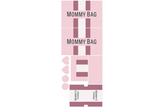 Mummy bag 105-- Set für eine Tasche