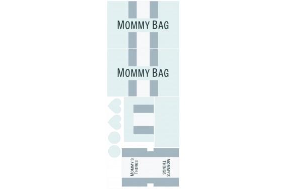 Mummy bag 107-- Set für eine Tasche