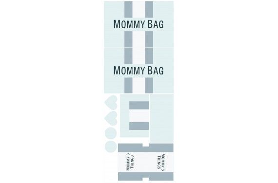 Mummy bag 107- zestaw na torbę
