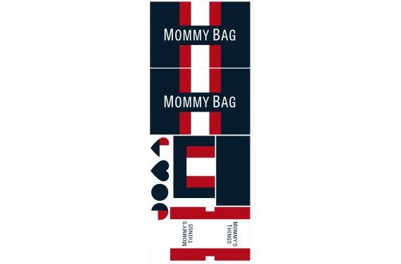 Mummy bag 108-- Set für eine Tasche