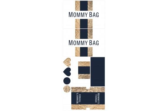 Mummy bag 109-- Set für eine Tasche