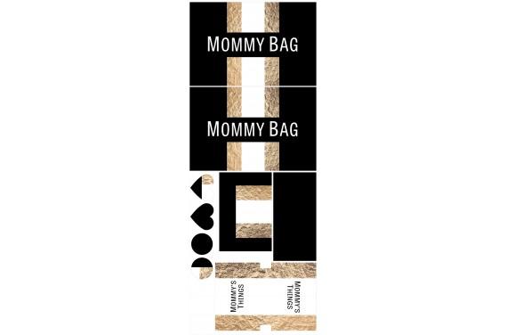 Mummy bag 110-- Set für eine Tasche