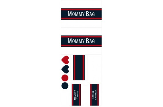 Mommy bag 108-- Set for a bag