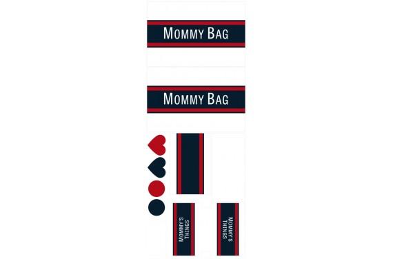 Mommy bag 108-- Set für eine Tasche