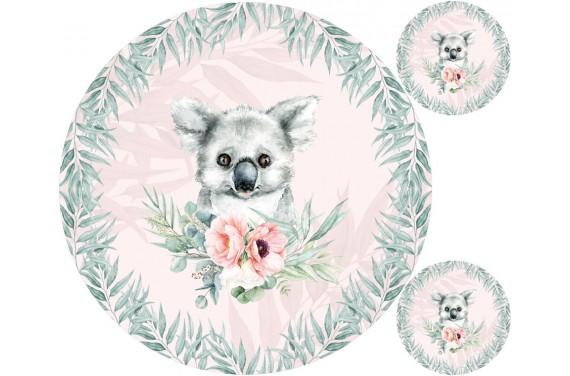 "Mat ""Koala 2 girl"" + FREE pillow"