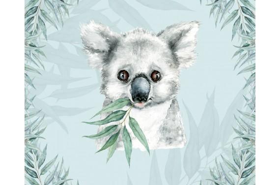 """Panel na torbę """"Koala 1 boy"""" - 50x40"""
