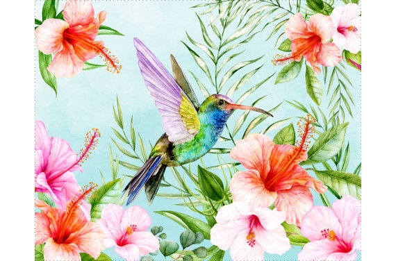 Humming bird 2- ECO LEDER PANEL