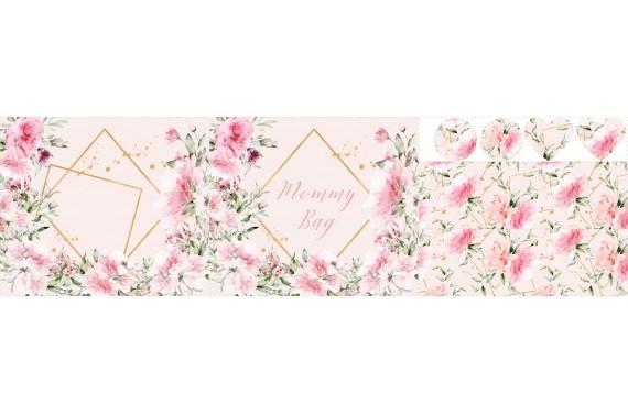 Romantic garden - zestaw na torbę
