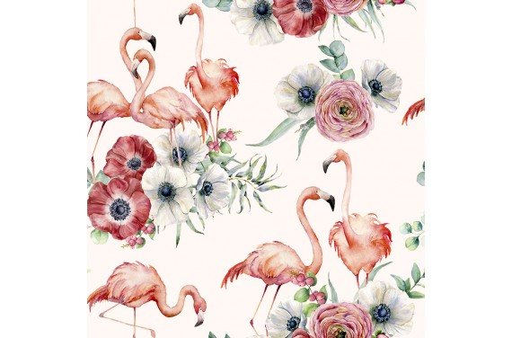 Flamingo bouquet 1