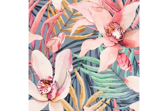 Tropical flowers 4