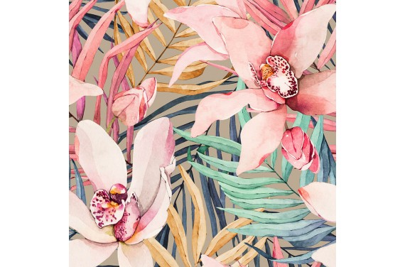 Tropical flowers 7