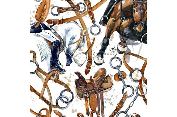 Dressage horse-3