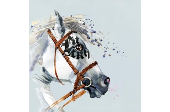 панель управления -  Dressage horse-boy-50x50