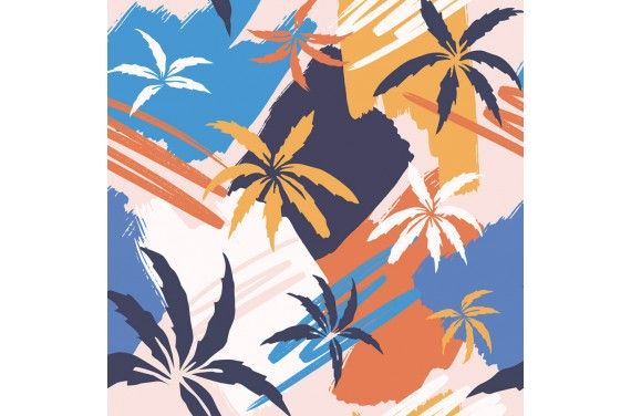 Abstract palm 2