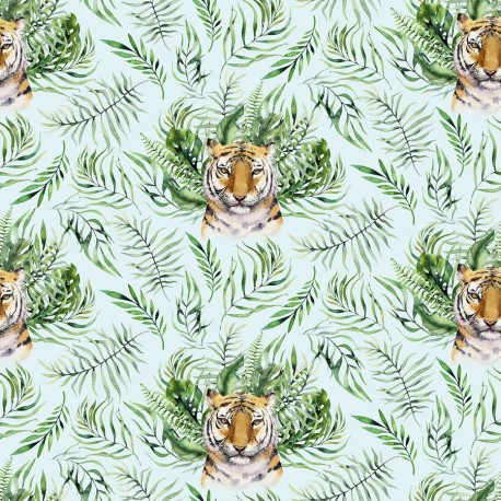 Tropical tiger 8 knitwear