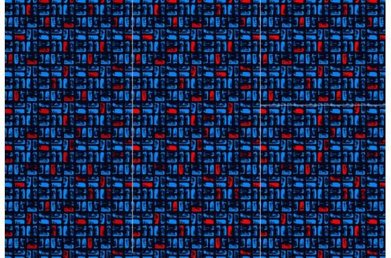 Полиэстер - Geometric-abstraction-2