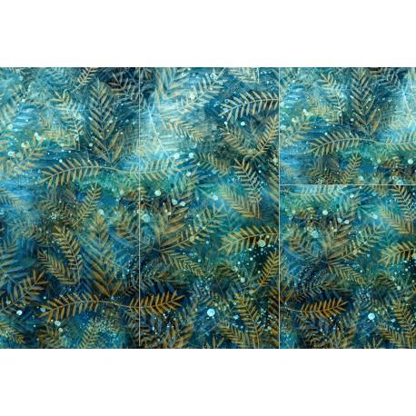 Panel for sleeping bag - Winter leafs