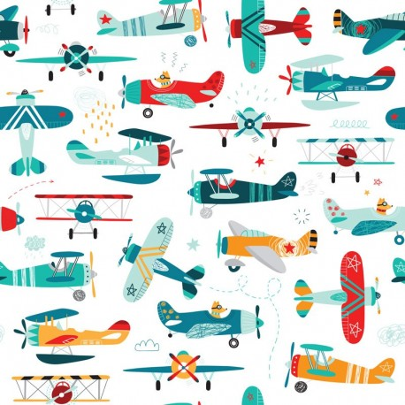 Fabric Airplanes 3