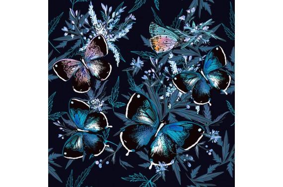 Floral & Butterflies
