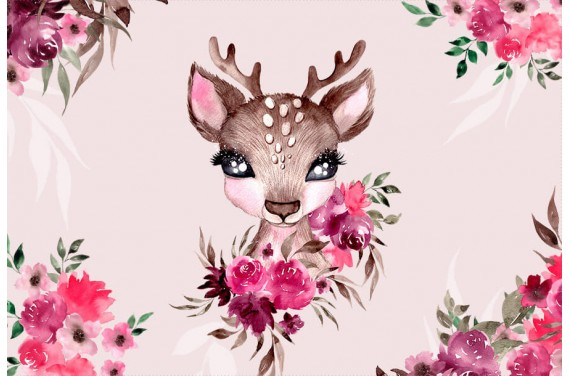 Little Forest Deer-poduszka