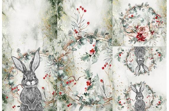 Panel for sleeping bag - Forest animal 1