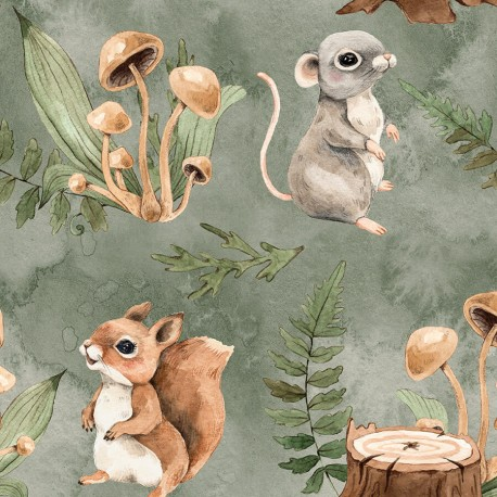 Little forest animals 1