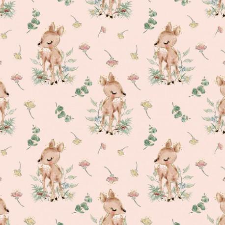 Deer and flowers 4