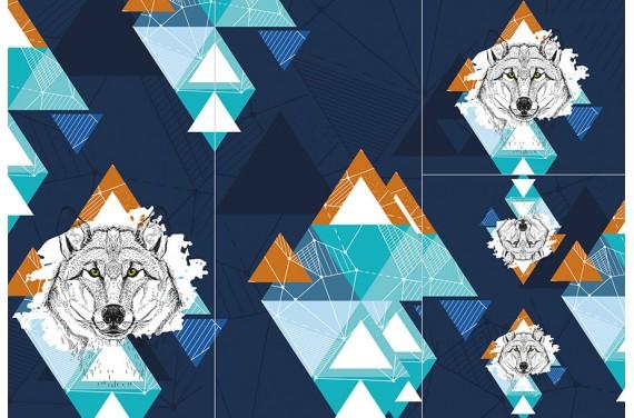Panel na śpiworek - Wild animals 1 BOY