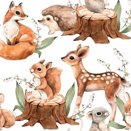 LITTLE FOREST ANIMALS 4