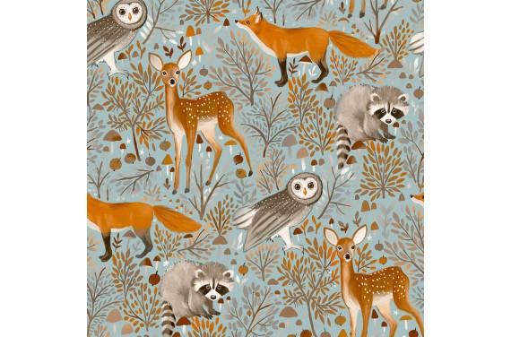 Brown forest animals