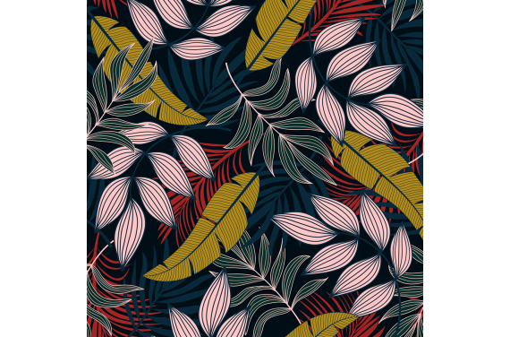Fashionable tropical flowers 2