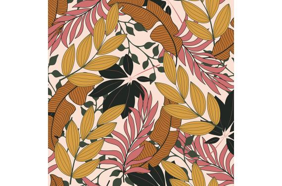 Fashionable tropical flowers