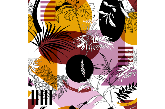 Trendy tropical forest