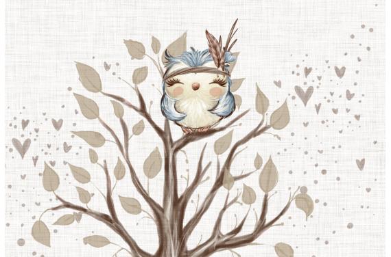 Woodland baby-poduszka