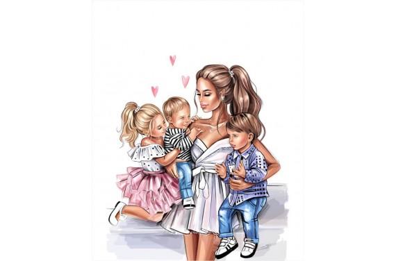 Mom & kids 5