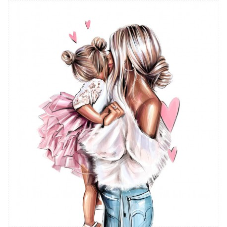 MOM & kids 1 ECO LEATHER PANEL